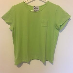 Lilly Pulitzer Cropped Tee Size XL